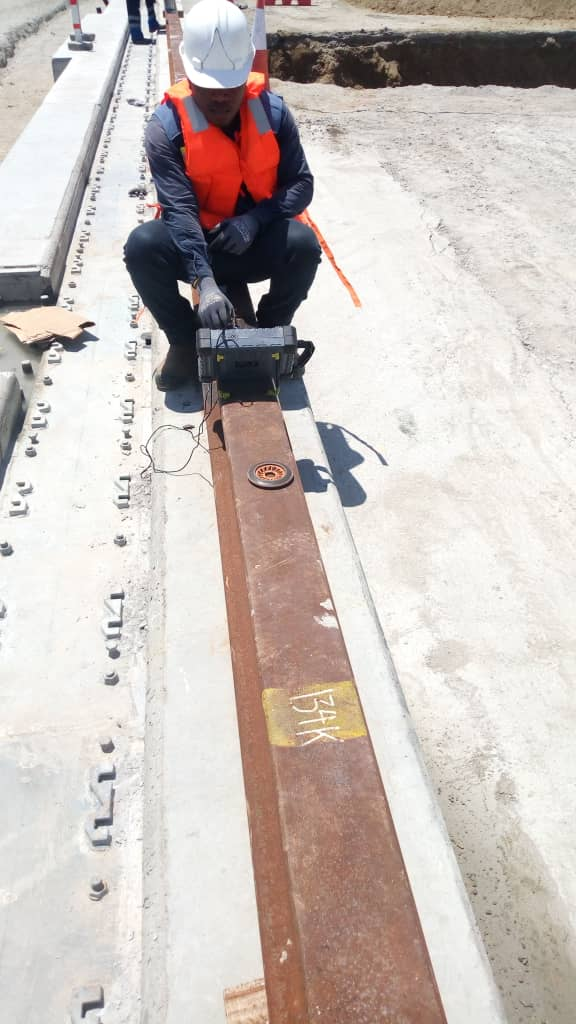 Rail line Inspection
